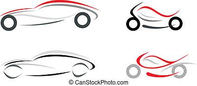 automobile, motocicletta