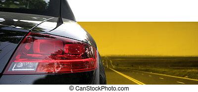 automobile, nero