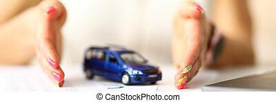 automobile, proteggere, tavola, giocattolo, palme