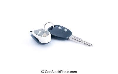 automobile, remoto, chiave