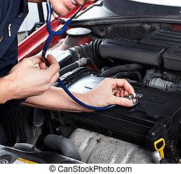 automobile, repair.