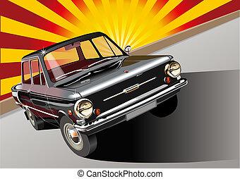 automobile, retro, 60-s