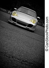 automobile sportivi, copyspace