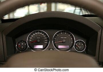 automobile, tachimetro