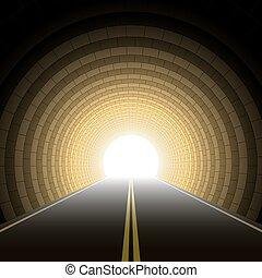 automobile, tunnel