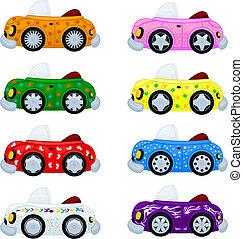 automobili, cartone animato