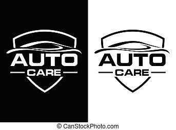 automobilistico, segno, simbolo, automobile, logotipo, astratto, company.