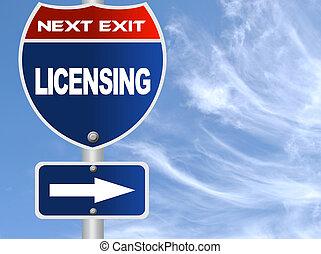 autorizzazione, segno strada