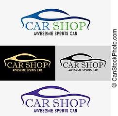autosalone, logotipo