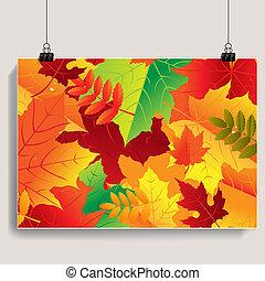 autunno, bandiera