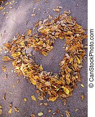 autunno, cuore