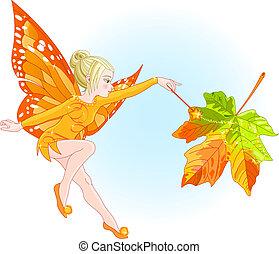 autunno, fata