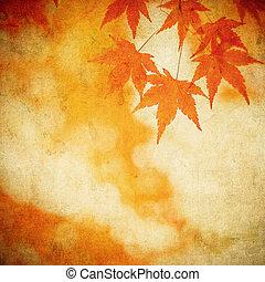 autunno parte, grunge, fondo