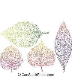 autunno parte, textured