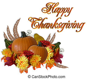 autunno, ringraziamento, fondo, cadere