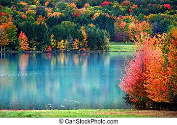 autunno scenico, paesaggio