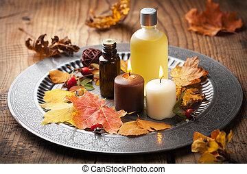 autunno, terme, aromatherapy