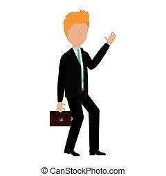 avatar, uomo affari