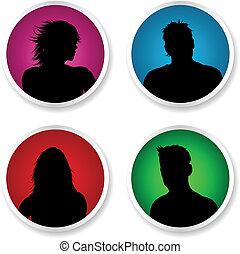 avatars, persone