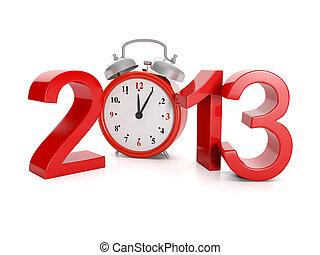 avvento, vacanze, illustration:, anno, events., 2013, 3d