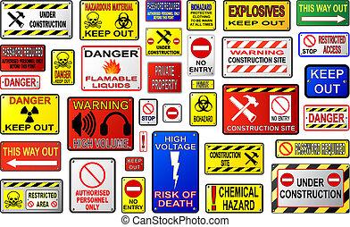 avvertimento firma