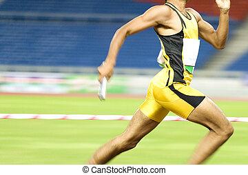 azione, atleta