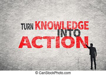 azione, turno, conoscenza