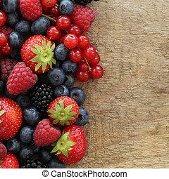 bacca, frutte