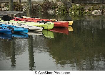 bacino, kayak