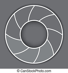 background10, grigio, astratto, curva