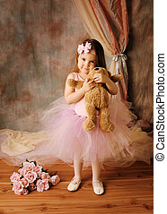ballerina, poco, bellezza