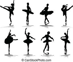 ballerine, riflessione