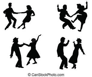 ballerini, anni cinquanta