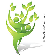 ballerini, verde, eco-icon