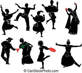 ballerino, etnico