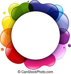 balloon, dialogo, colorare