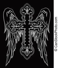 baluginante, religioso, croce