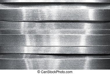 baluginante, striscie, metallo