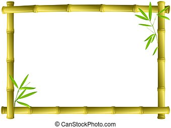 bambù, cornice