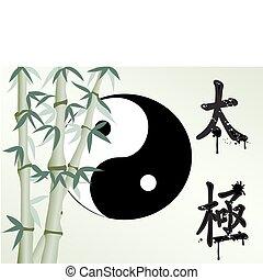 bambù, zen, come