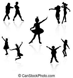 bambini, ballo