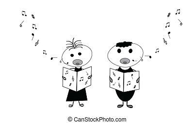 bambini, canto