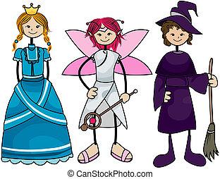 bambini, costume