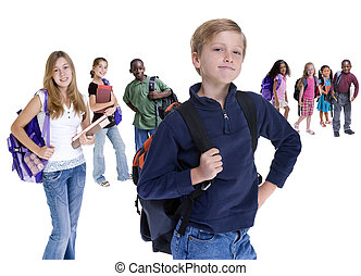 bambini scuola, diversità