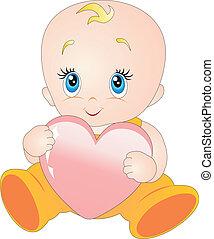 bambino, cuore