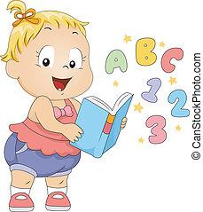 bambino primi passi, libro