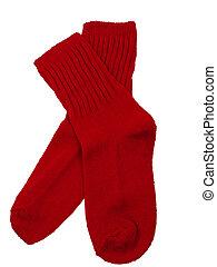 bambino primi passi, rosso, calzini