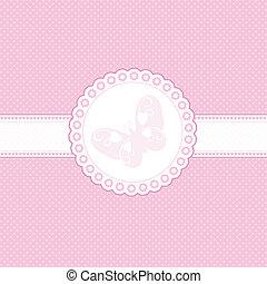 bambino, sfondo rosa