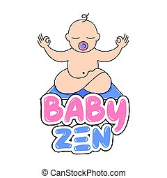 bambino, zen, yoga