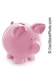 banca piggy rosa